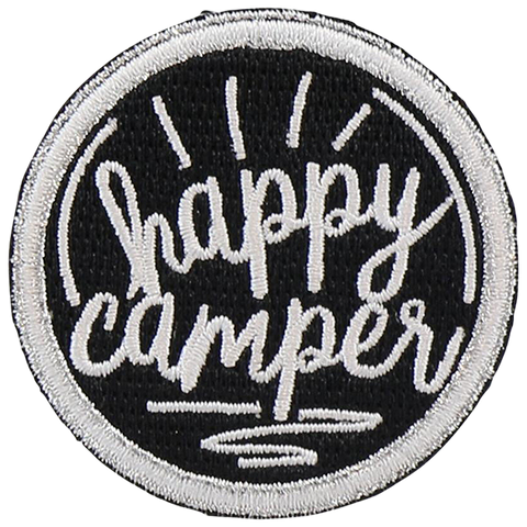 Happy Camper Sticker Patch