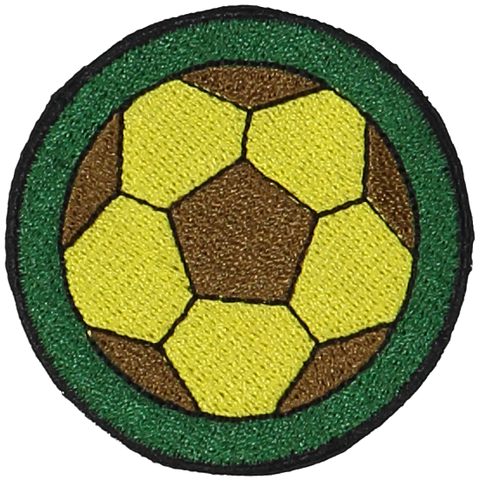 Primary Soccer Ball Sticker Patch