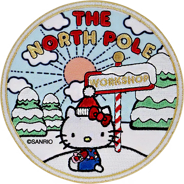 Hello Kitty The North Pole Patch