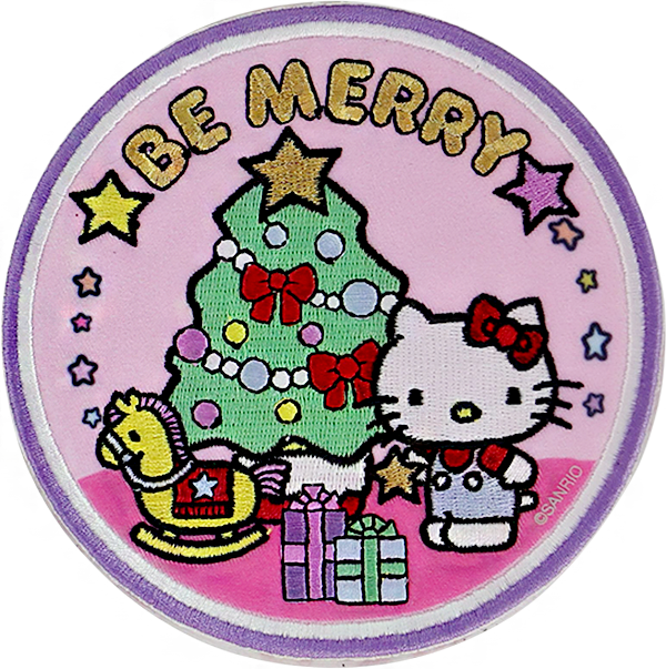 Hello Kitty Holiday Be Merry Patch