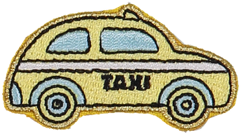 Taxi Sticker Patch