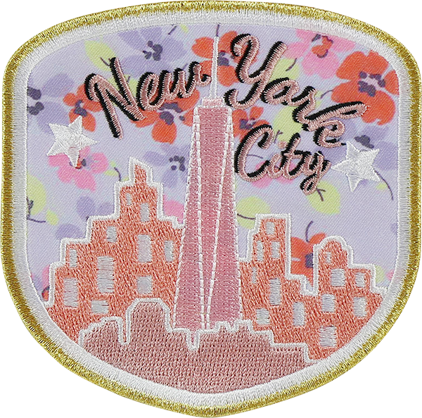 LoveShackFancy x Stoney Clover Lane New York City Sticker Patch