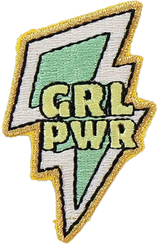 Girl Power Sticker Patch