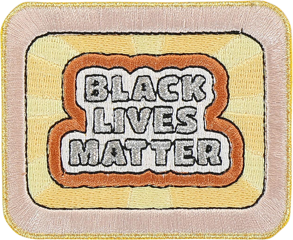 Black Lives Matter Sticker Patch