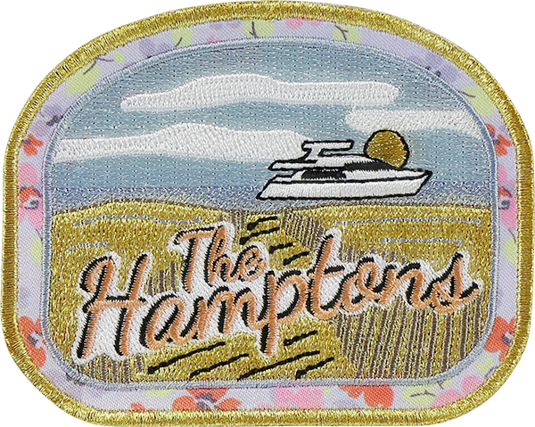 LoveShackFancy x Stoney Clover Lane The Hamptons Sticker Patch