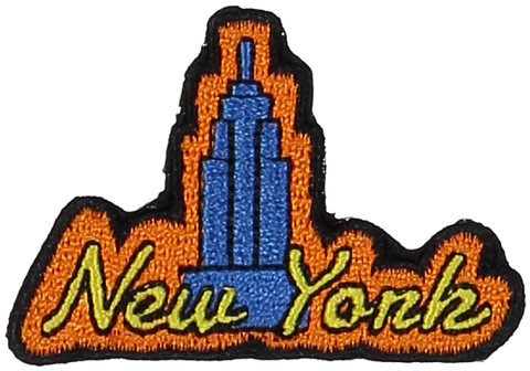 Primary New York Sticker Patch