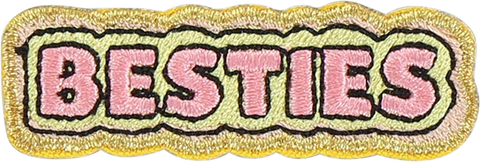 Besties Sticker Patch