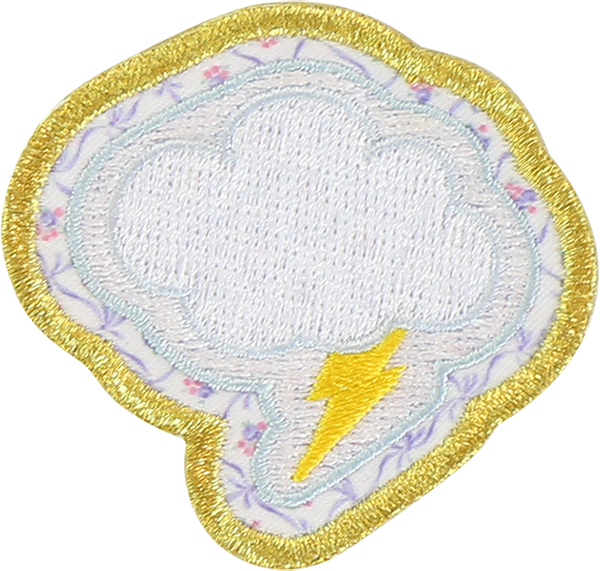 LoveShackFancy x Stoney Clover Lane Cloud Sticker Patch