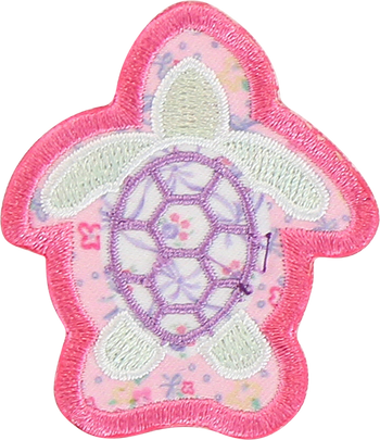 LoveShackFancy x Stoney Clover Lane Turtle Sticker Patch