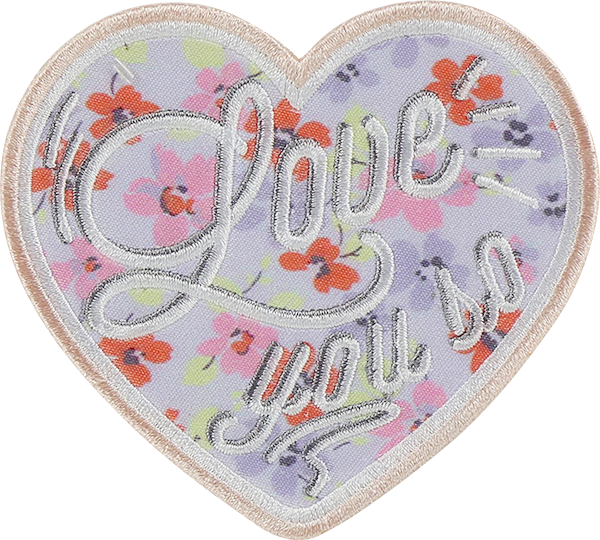 LoveShackFancy x Stoney Clover Lane Love You So Sticker Patch