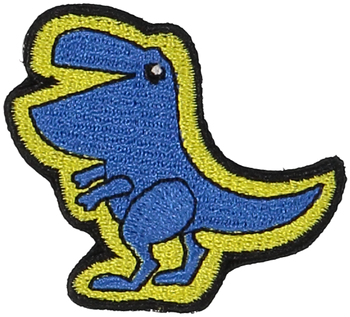 Primary T-Rex Sticker Patch