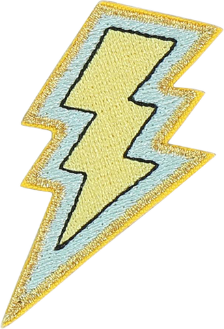 Lightning Bolt Sticker Patch