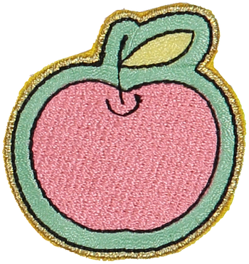 Big Apple Sticker Patch