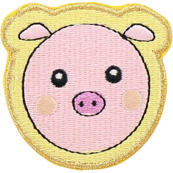 Pig Face Sticker Patch