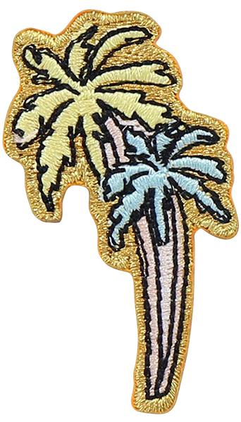 Palm Trees Sticker Patch