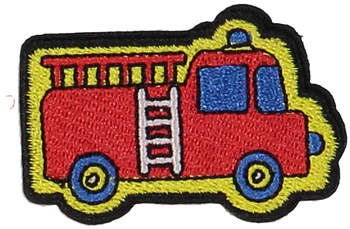 Primary Fire Truck Sticker Patch