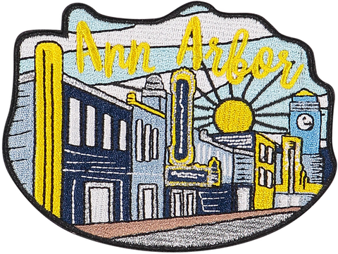 Ann Arbor Sticker Patch