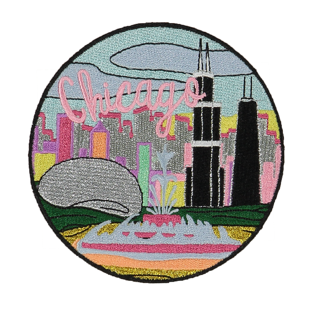 Chicago Sticker Patch