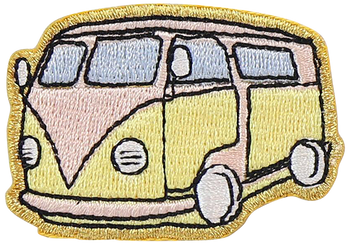 Retro Van Sticker Patch