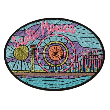 Santa Monica Sticker Patch