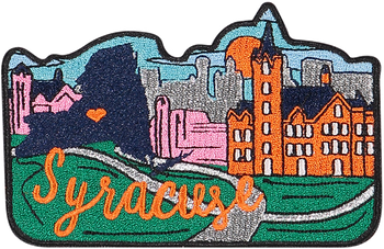 Syracuse Sticker Patch
