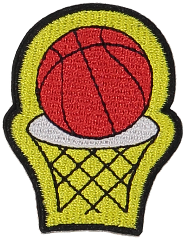 Primary Hoops Sticker Patch