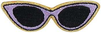 Sunglasses Sticker Patch