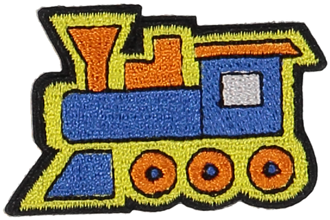 Primary Train Sticker Patch