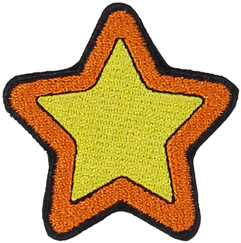 Primary Star Sticker Patch