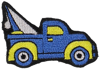 Primary Tow Truck Sticker Patch