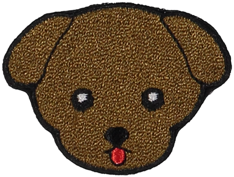 Primary Puppy Sticker Patch