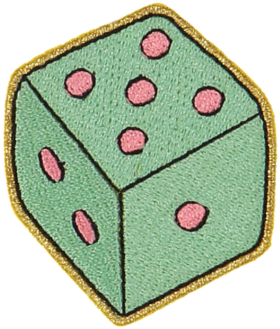Dice Sticker Patch