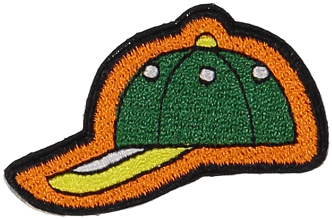 Primary Baseball Hat Sticker Patch
