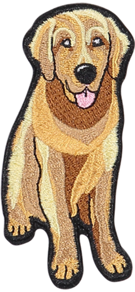 Golden Retriever Sticker Patch