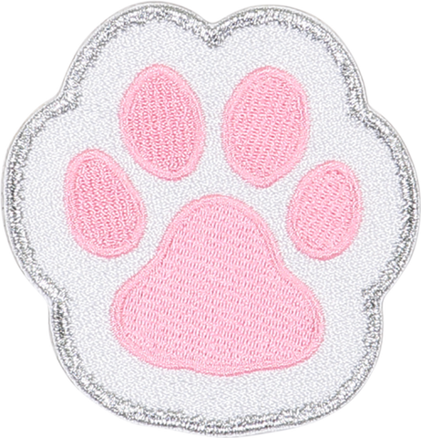 Paw Print Sticker Patch