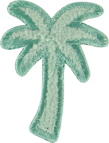 Terry Palm Tree Sticker Patch