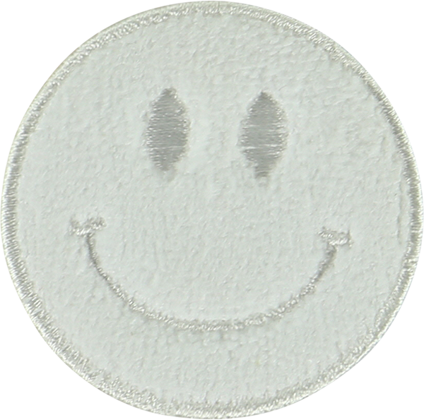 Terry Smiley Face Sticker Patch