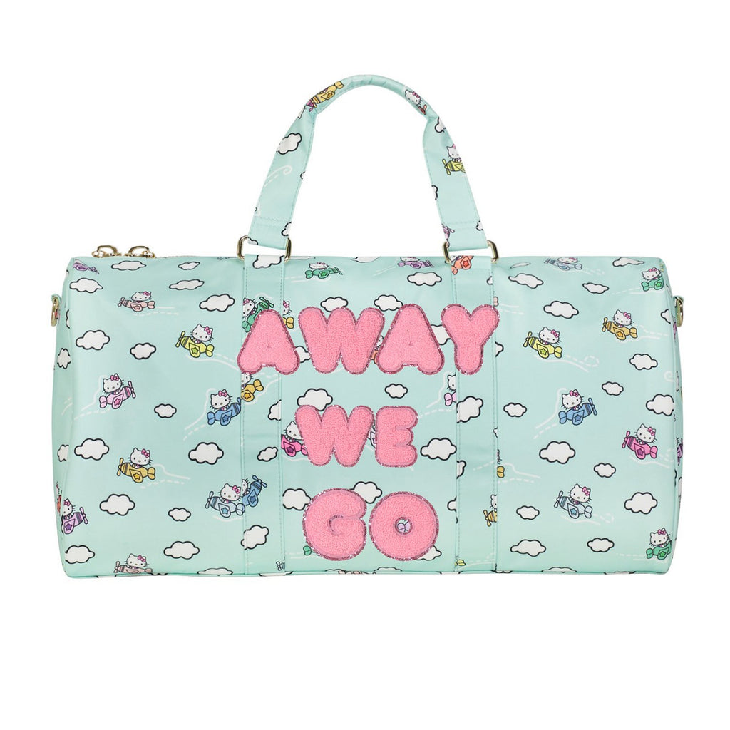 Hello Kitty Airplane Duffle 'Away We Go' Patches