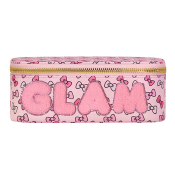 Hello Kitty Bow Mirror Open Top 'Glam' Pouch