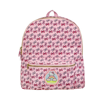 Hello Kity Bow Backpack with Hello Kitty You Are My Sunshine Patch