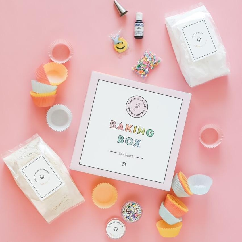 Earth & Sugar x Stoney Clover Lane Baking Box