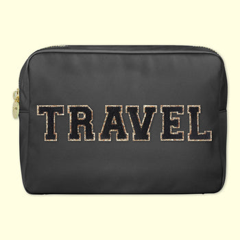 Noir 'Travel' Large Pouch