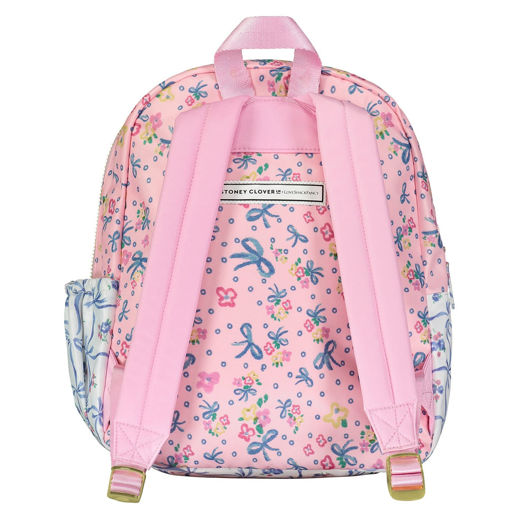 LoveShackFancy x Stoney Clover Lane Baby Bell Pink Mini Backpack
