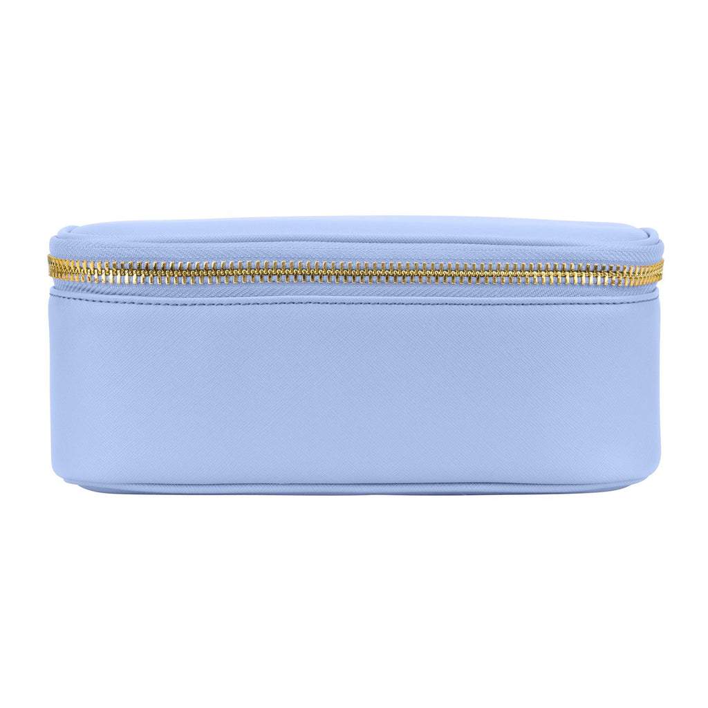 Textured Open Top Mirror Pouch