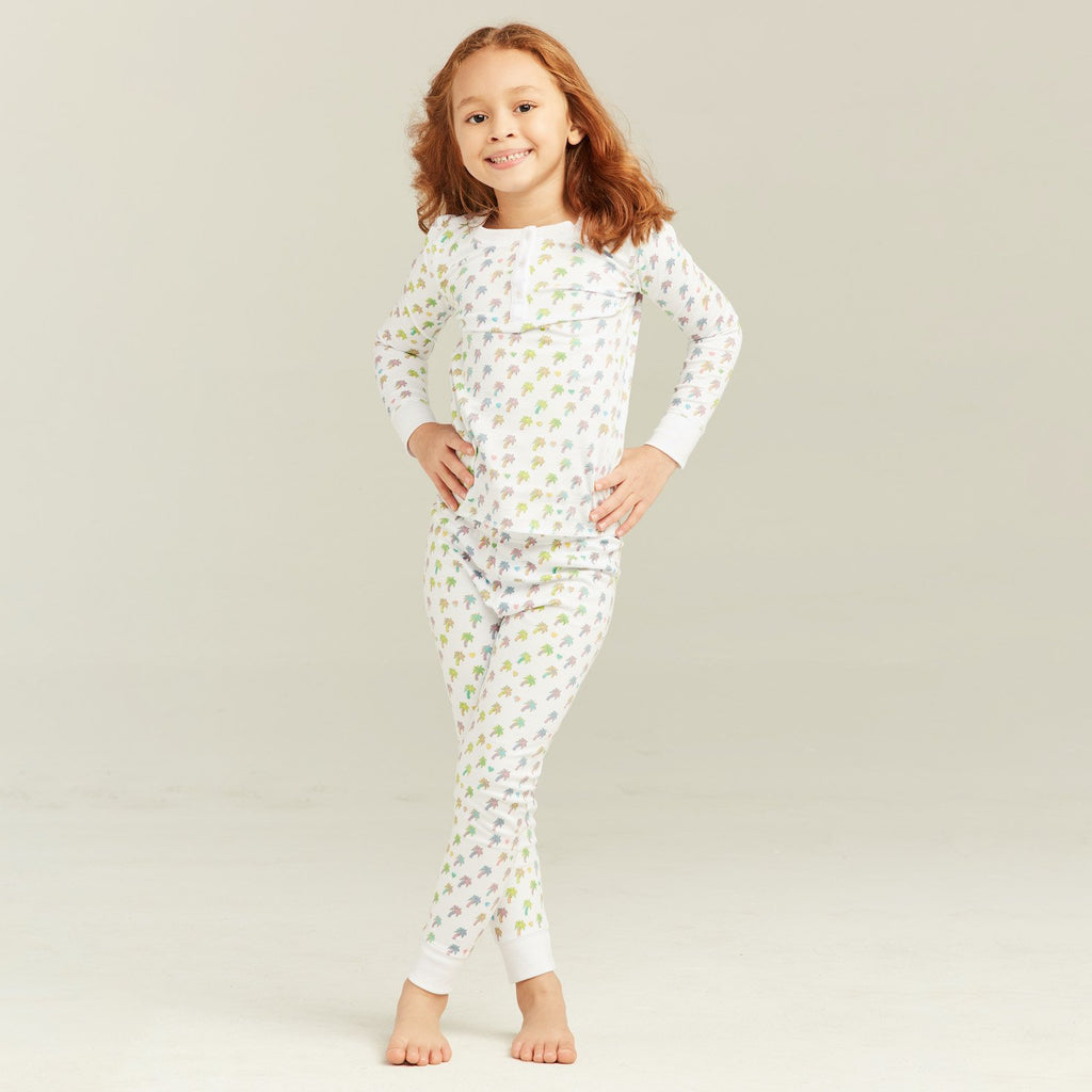 Palm Dreams Kids Pajama Set