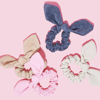 Corduroy Scrunchie Set