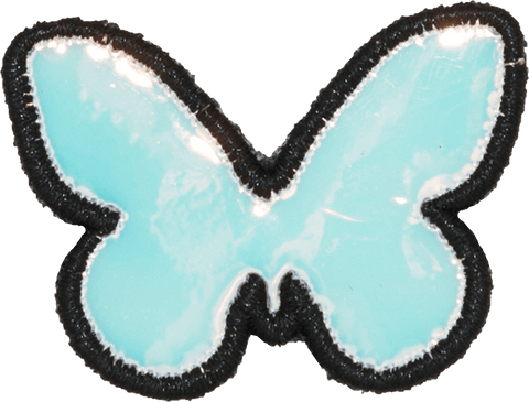 Puffy Iridescent Butterfly Patch