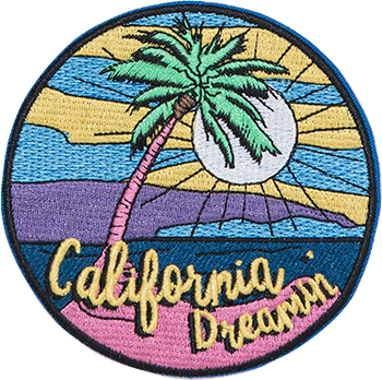 California Dreamin' Sticker Patch