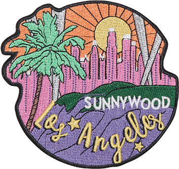 Los Angeles Sticker Patch