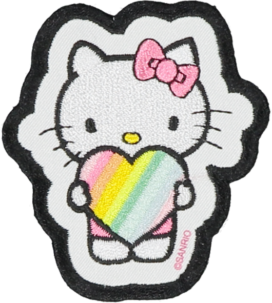 Hello Kitty Holding Heart Patch